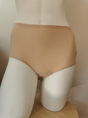 Chantelle culotte haute soft strech beige