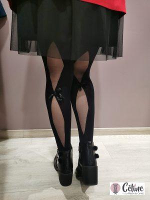 Collant fantaisie Girardi Sweetness noir