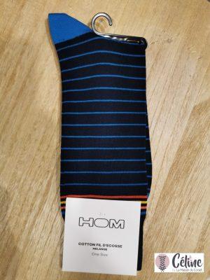 chaussette Greg HOM marine bleu