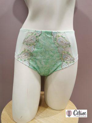 Culotte haute Prima Donna Alalia fleur de printemps