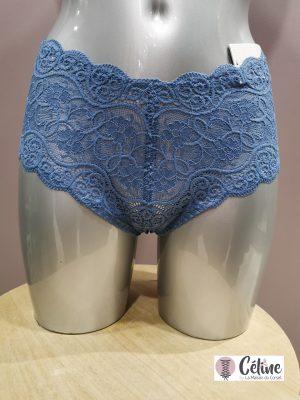 Culotte haute triumph Amourette 300 blue jeans