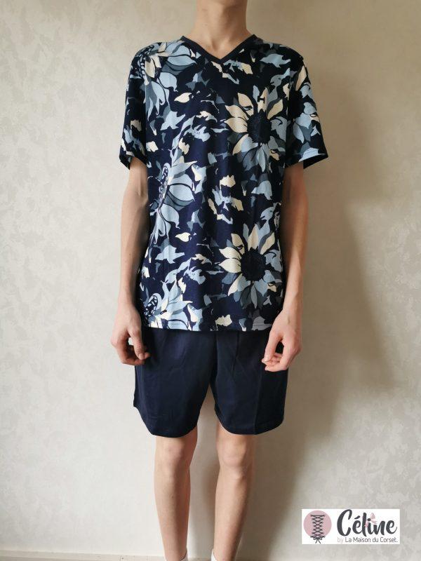 Pyjashort Hom Vincent navy