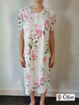 Chemise de nuit Ringella Fleurs de printemps rose