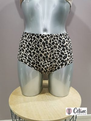 Culotte haute Chantelle Soft Strech léopard